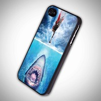 Thor vs Shark The Avangers - iPhone 4 Case, iPhone 4s Case and iPhone 5 case Hard Plastic Case