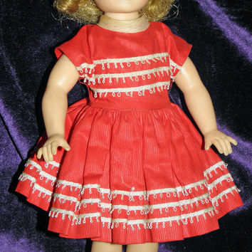 """1958 Ideal 12"""" Shirley Temple Doll - Needs TLC"""