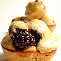 Dog Mutt MuffinsBlackberry and Peanut by TrueTreatsPetBakery