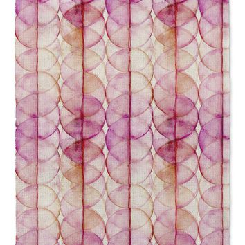 HOT CIRCLES Area Rug By Catia Keck