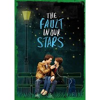 Fault In Our Stars The Movie Poster Standup 4inx6in