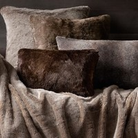 Luxe Faux Fur Pillows | Restoration Hardware