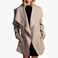 Rotandlia Deep Cover Wintery Warm Trenchcoat