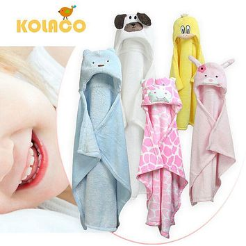 baby blanket for newborn swaddle super soft comfortable  Kid Toddler hooded Cloak quilt fleece wrap ctrq0005