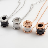 Shiny Gift Jewelry New Arrival Stylish Roman Ring Chain Necklace [10375462228]