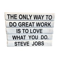 """""""Love What You Do ... """" Decorative Book"""