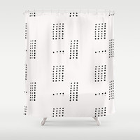 Dash Shower Curtain by Salted Seven