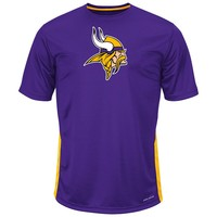 Majestic Minnesota Vikings To the Limits Synthetic Tee - Big & Tall, Size: