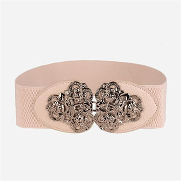 Fashion Belts for women Ms Bohemian Style Retro Elastic Belt Fashion