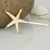 Starfish Mermaid Hair Clip