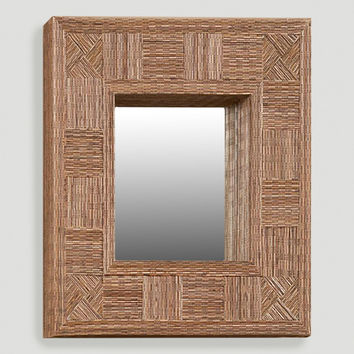 Mosaic Coco Stick Rectangular Mirror - World Market
