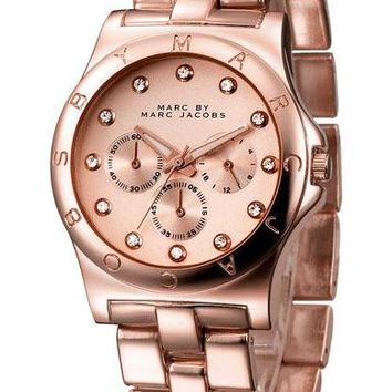 MARC BY MARC JACOBS fashion exquisite watch Rose gold B-PS-XSDZBSH
