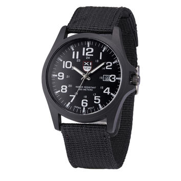 Canvas Watch Quartz Watch [6542544643]