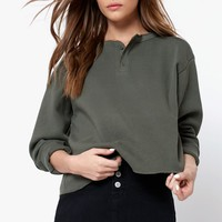 John Galt Allie Crew Neck Sweatshirt at PacSun.com