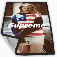 Lana Del Rey Supreme Blanket for Kids Blanket, Fleece Blanket Cute and Awesome Blanket for your bedding, Blanket fleece *