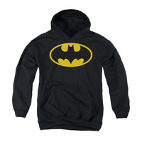 Batman Classic Logo Youth Pullover Hoodie