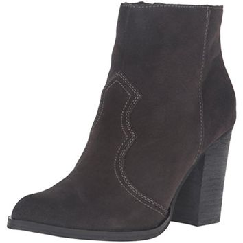 Dolce Vita Womens Caillin Suede Pointed Toe Booties
