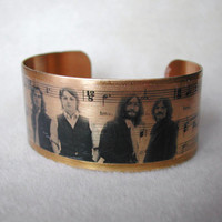 """Beatles """"All You Need is Love"""" cuff bracelet"""