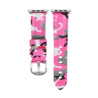 Pink Ladies Camo Apple Watch Strap