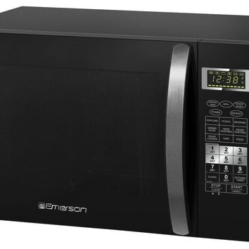 Emerson 1.5 Cu. Ft. Countertop Microwave Oven 1,000 Watt With Convection & Grill, Factory Reconditioned