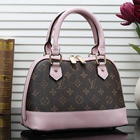 Louis Vuitton LV Women Fashion Leather Tote Shoulder Bag Crossbody Satchel