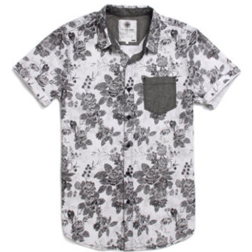 On The Byas Neko Floral Printed Short Sleeve Woven Shirt at PacSun.com