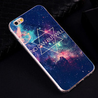 So Beautiful Galaxy iPhone 6S 5S 6 Plus creative case Best Gift