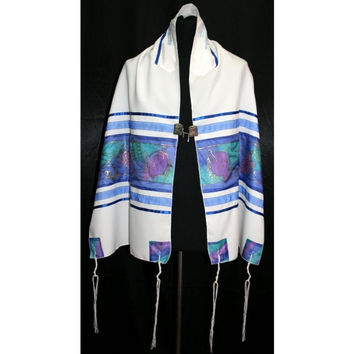 Grapes & Pomegranates Tallit Set