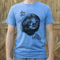Live Slow Die Whenever Sloth T-Shirt | 6DollarShirts