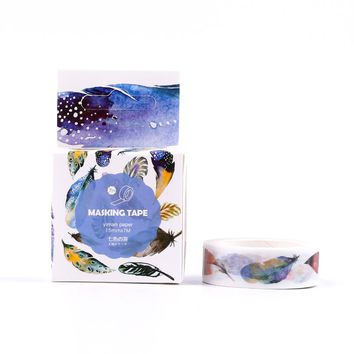 The Flying Feather Decorative Washi Tape Diy Scrapbooking Sticker Label Masking Tape School Office Supply