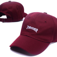Hot Wine Thrasher Embroidery Baseball Cap Hats