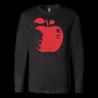 Death Note - The Death Face - Unisex Long Sleeve T Shirt - TL01001LS