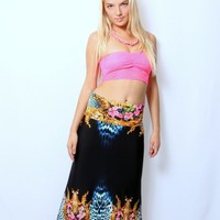 Golden Jungle Fever Exuma Skirt