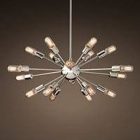 Sputnik Elliptical Filament Chandelier