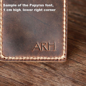 Money Clip Wallet PERSONALIZED WALLET ---- Leather Wallet with Money Clip -- Distressed Leather Wallets for Men / 018 - Women's Wallets
