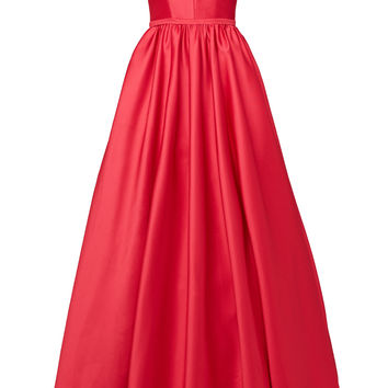 ML Monique Lhuillier Pomegranate Gown