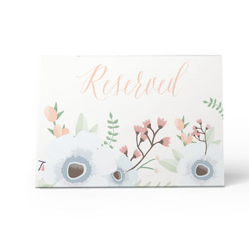 The Crosby - Wedding Reserved Sign - Boho Floral