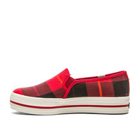 kate spade new york Decker Sneaker in Red Plaid
