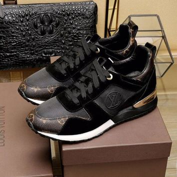 LV Louis Vuitton Trending Woman Men Stylish Casual Sneakers Sport Shoes I/A