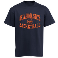 Oklahoma State Cowboys Reversal Basketball T-Shirt - Black