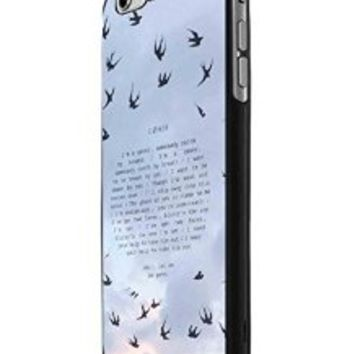 Twenty One Pilots Goner iPhone 6 Case Hardplastic Frame Black Fit For iPhone 6