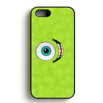 Disney Mike Wazowski Monster Inc Smile iPhone 5, iPhone 5s and iPhone 5S Gold case