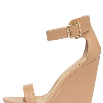New Heights Natural Platform Wedges