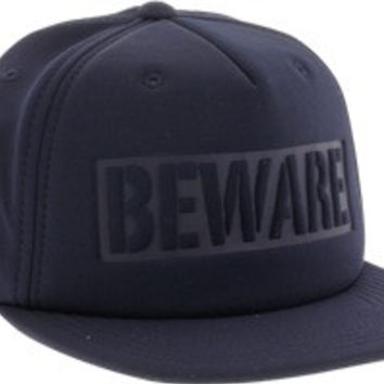 Grizzly Beware Hat Adjustable Navy
