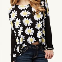 Daisy Boxy Crop Top