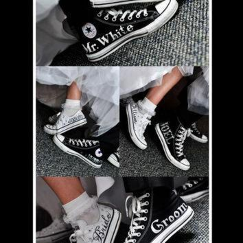 DCKL9 MADE TO ORDER - Wedding Converse