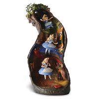 Disney WDCC Signature Series ''Down the Rabbit Hole'' Alice in Wonderland Figurine | Disney Store