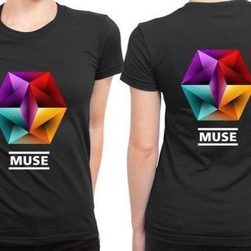 Muse Undisclosed Desire 2 Sided Womens T Shirt