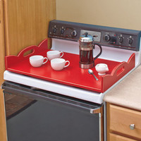 Wooden Stove Top Covers