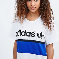 Adidas City Tee Dress in White - Urban Outfitters